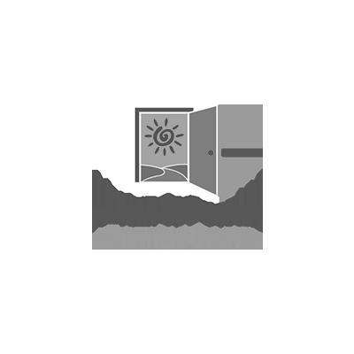 Abriendo Puertas Opening Doors logo