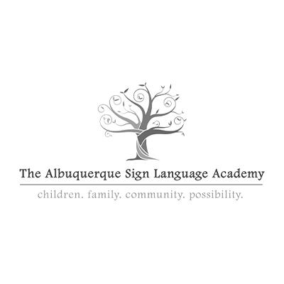 The Albuquerque Sign Language Academy logo